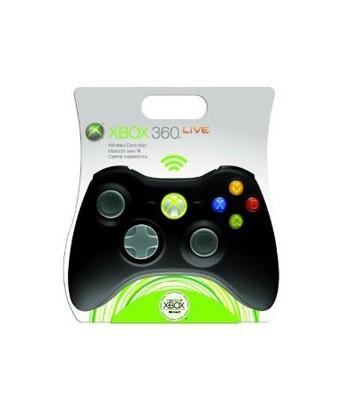 Manette Xbox 360 sans fil noire